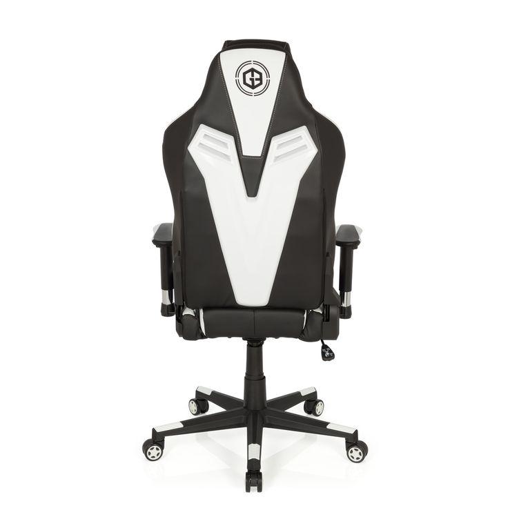 #Gaming #Stuhl / #Bürostuhl #Sportsitz #GAMEBREAKER by hjh OFFICE #SX03 #weiß #white #backside #rückseite #furniture #gaming stuhl #gamingchair #progamer #style #design #chair #officechair #office #gamingsetup #callofduty #gamer #racing #rennsitz #racer #league #need #red #schwarz #ergonomisch #buerostuhl24.com #chefsessel #boss