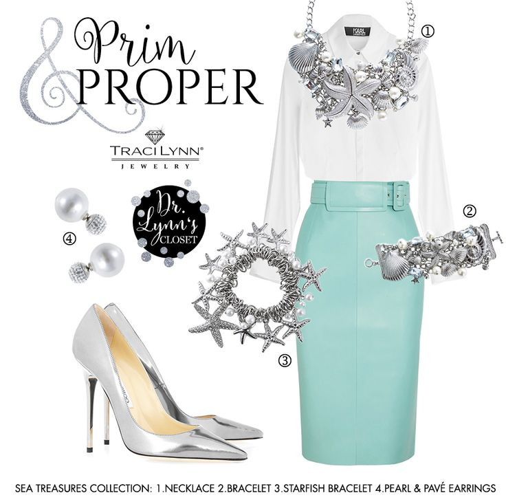 Dress up in your Sunday best with pastel hues and Traci Lynn Jewelry. #SpringStyle