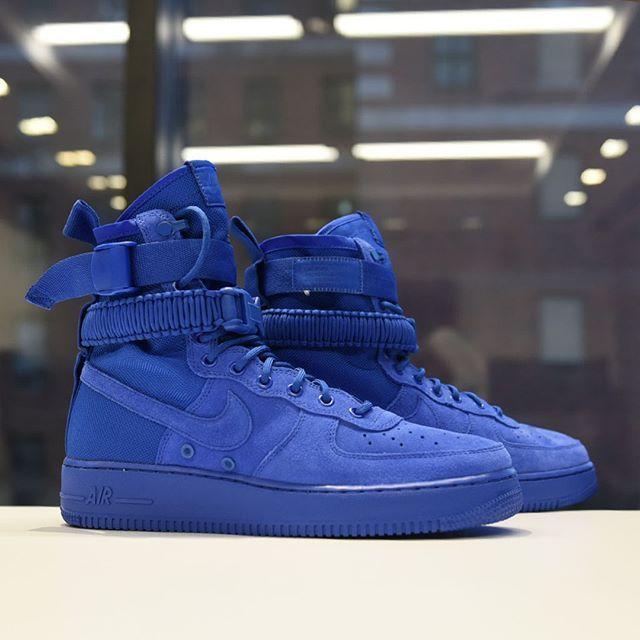 Nike SF Air Force 1 High Game Royal | Nike fashion, Nike