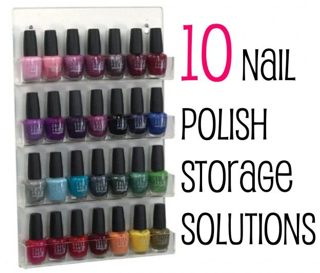 118 best Nail Polish Organize images on Pinterest | Nail polish ...