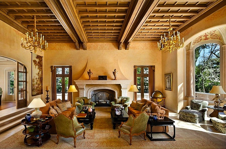 cheap bracelets Amazing Tuscan Living Area  Beautiful Rooms