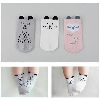 Buy 3 Pairs Baby Girls Slip-resistant Cotton Socks For 0-12 Months online at Lazada. Discount prices and promotional sale on all. Free Shipping.