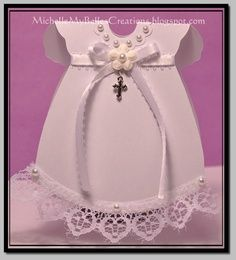 MichelleMyBelle Creations: Baptism Card