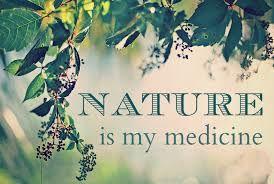 Nature is my medicine #nature #quote