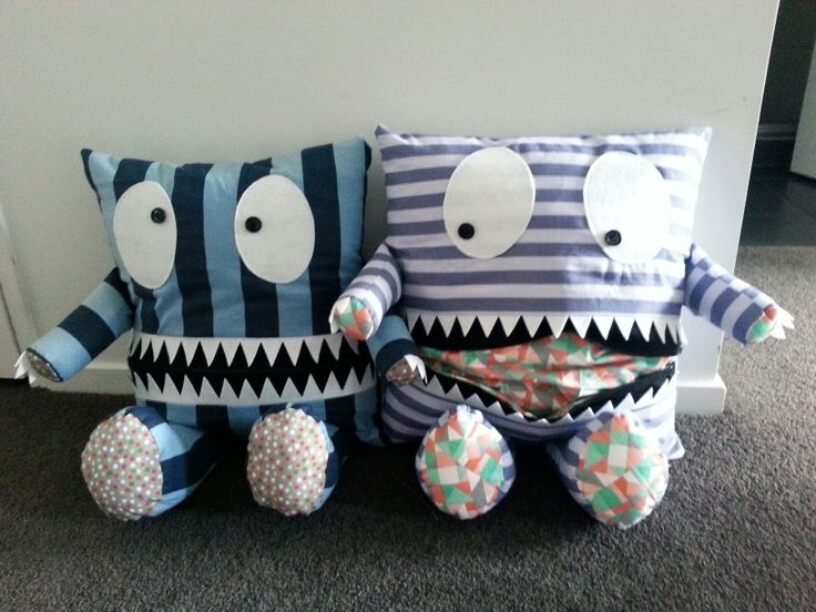 Pajama eating monsters :-)