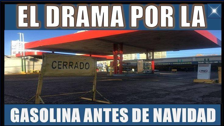 Así es el DRAMA por la GASOLINA antes de la NAVIDAD #ULTIMA HORA VENEZUELA 24 DICIEMBRE 2017