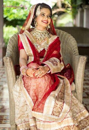 Muslim Bride #MelangeBridal #WeddingBells Makeup - Ranjan Manani Styling - Aqsa Raval Mehendi - Shagun Creations Jewelery - Panache Jewelery Photography - Vinit Kapupara  Concept - Wedding Bells