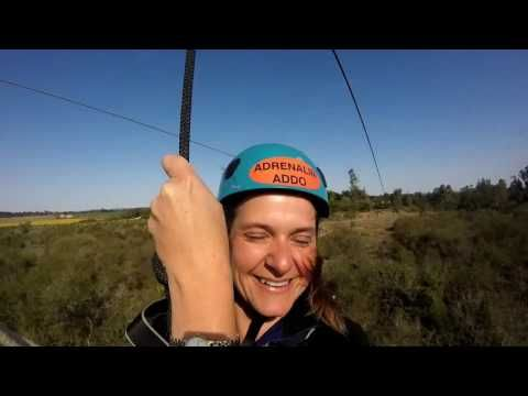 Longest double Zip Line in #southafrica with Adrenalin Addo! #dirtyboots…
