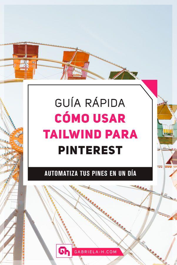 Cómo usar Tailwind para Pinterest: La Guía Rápida #pinterest #tailwind #redessociales #productividad Marketing Visual, Digital Marketing, Marketing Strategies, Post Pinterest, Blogging, Pinterest Marketing, Branding, Management, Business