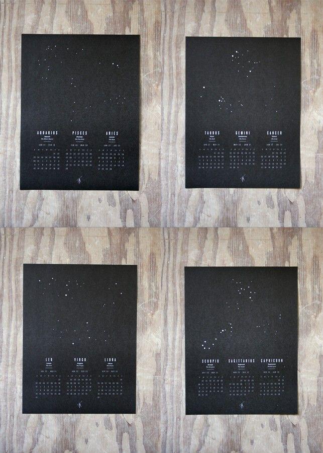 prismatic print shop astrology calendar.