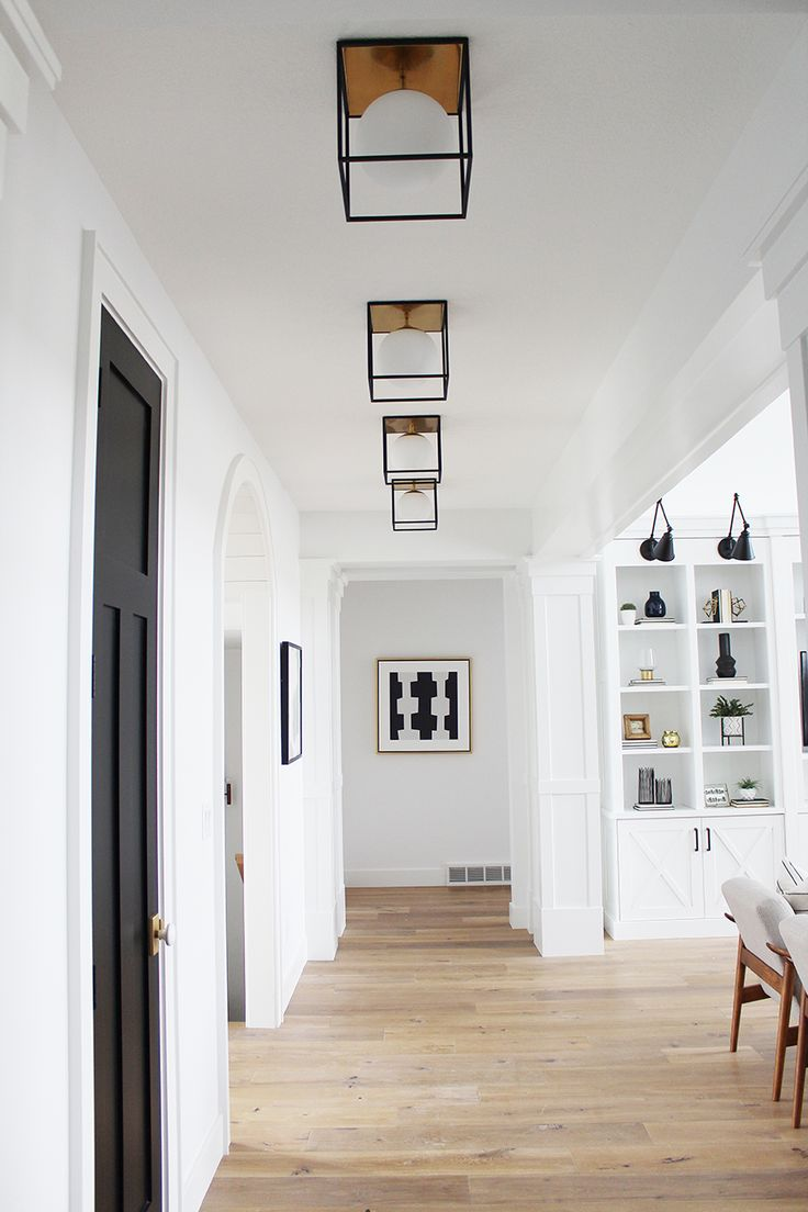 Wouldn't it be nice to use decorative lighting fixtures in lieu of standard recessed can light?  We say yes!