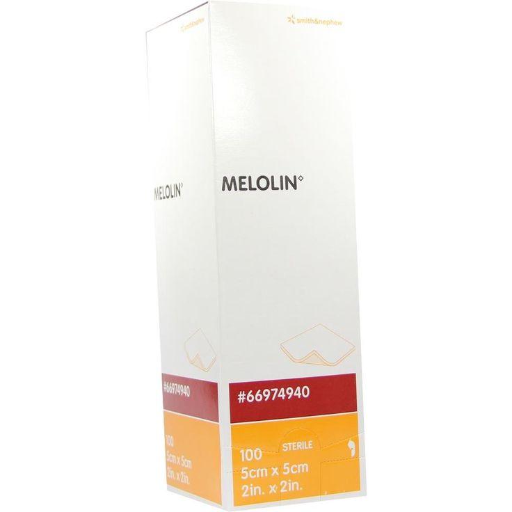 #MELOLIN 5x5cm Wundauflagen steril rezeptfrei im Shop der pharma24 Apotheken