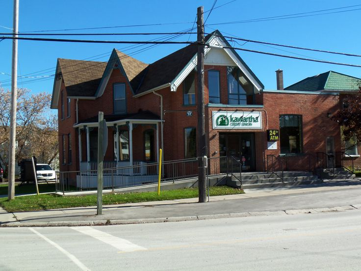 Kawartha Credit Union on the S/E corner of Eldon Road and Little Britain Road
