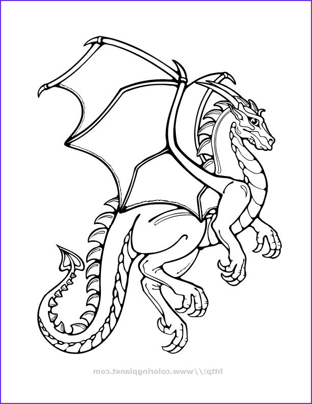 Cool Dragon Coloring Pages Coloring Home Dragon Coloring Page Cartoon Coloring Pages Easy Dragon Drawings