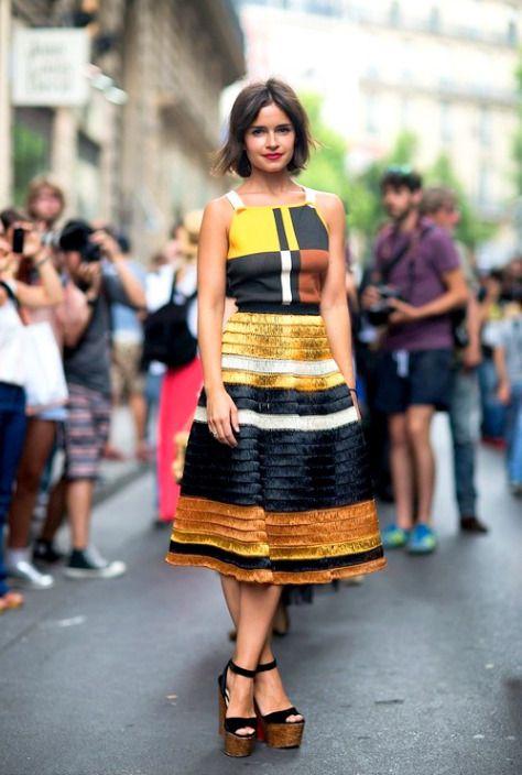 ミロスラヴァ・デュマがお手本。クールタイプのモード系女子必見のコーデ☆参考にしたいスタイル・ファッションのアイデア♪