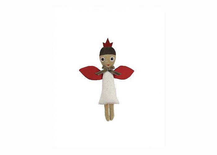 DIY dukke Rose fra Esthex - Tinga Tango Designbutik dukke som fungerer som en lille DIY. Æsken som dukken kommer i kan laves om til en fin lille seng.