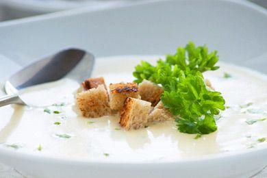 Weissweinsuppe