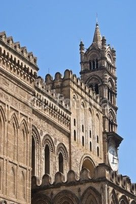 Detail of the cathedral of Palermo
