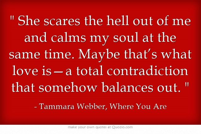 Tammara Webber, Where You Are