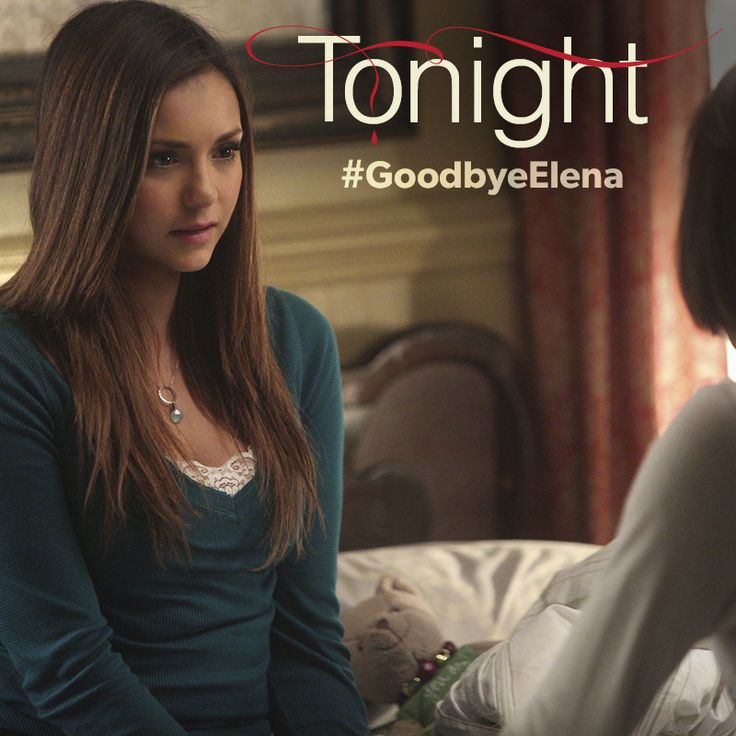 The time has come. See how Elena's journey ends in the season finale of #TVD tonight at 8/7c. #GoodbyeElena
