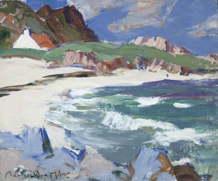 Seascape, Iona by John Maclauchlan Milne (Scottish 1886-1957)