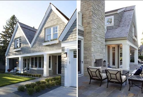 Shingle style architecture | Newport House | Pinterest