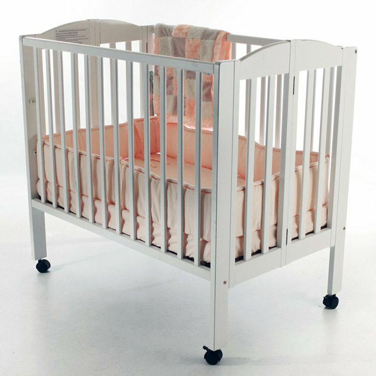 Dream On Me 3 In 1 Folding Portable Crib   White