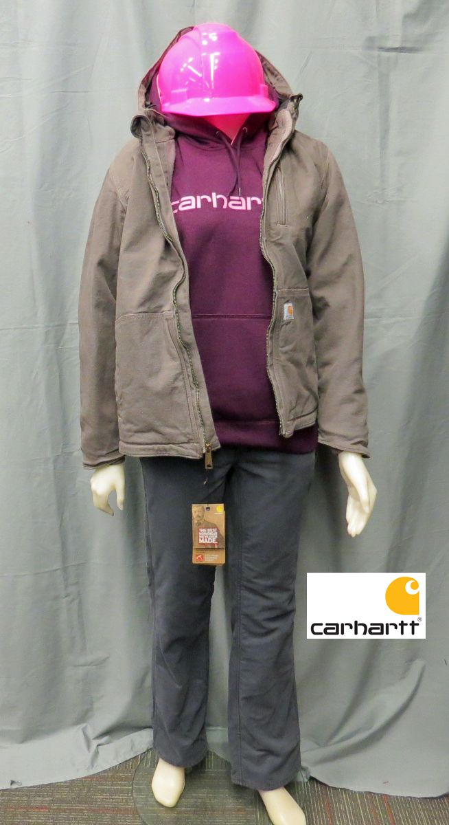 More and more women are in the work field, working out doors and Carhartt makes it easy for women to stand up in the work field. Staying warm and comfortable.