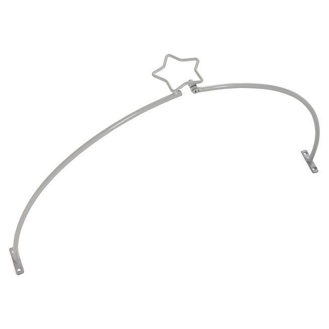 Cocci kid Cerceau pour ciel de lit gris motif étoile