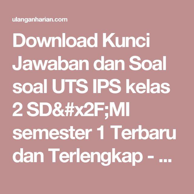 Download Soal Un Ips Smp