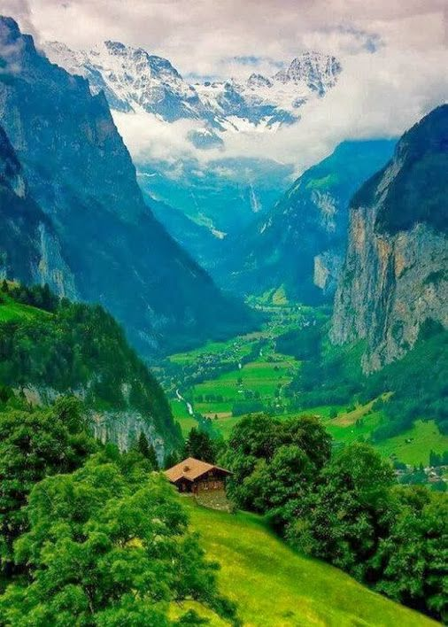Valley of Dreams - Interlaken, Switzerland  Welcome to Heidi/Sound of Music wonderland...