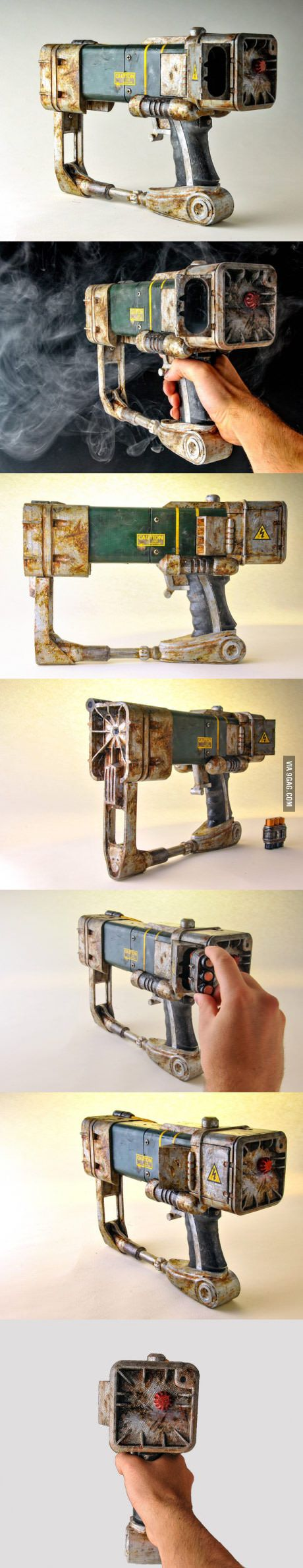 3D printed Fallout 4 laser pistol