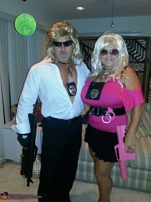 Get into the Halloween spirit by coordinating a costume with your sweetie. These clever costumes are easy to DIY and well-suited for fun-loving couples.
