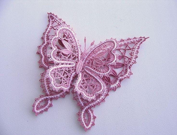 Russian bobbin lace.