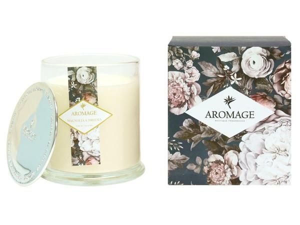 Pamper all the five senses when furnishing your home with Fragrance candles. Bring back that heady feeling of romance in your life and make date nights extra special with fancy romantic candles. At The Fragrance Room, we are coming with limited stock of Magnolia & Freesia Scented Candle made by Aromage in Australia. Click below and order now!  Offer price: $14.95 $̶1̶9̶.̶9̶5̶