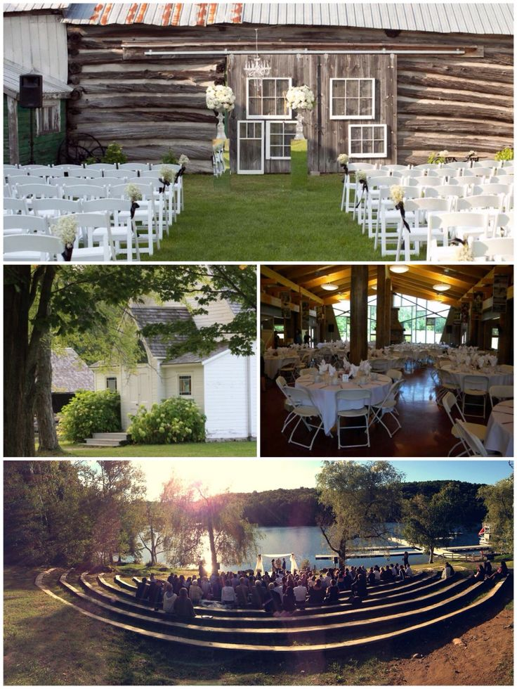 9 Charming locations for a wedding celebration in rural Ontario.