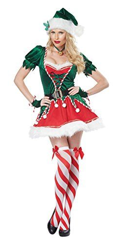 California Costumes Women's Santa's Helper Adult, Green/R... https://www.amazon.com/dp/B00LL4BZZ8/ref=cm_sw_r_pi_dp_x_Rg7zybNT2JENS