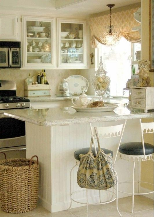Cottage Style Kitchen Islands Ierie