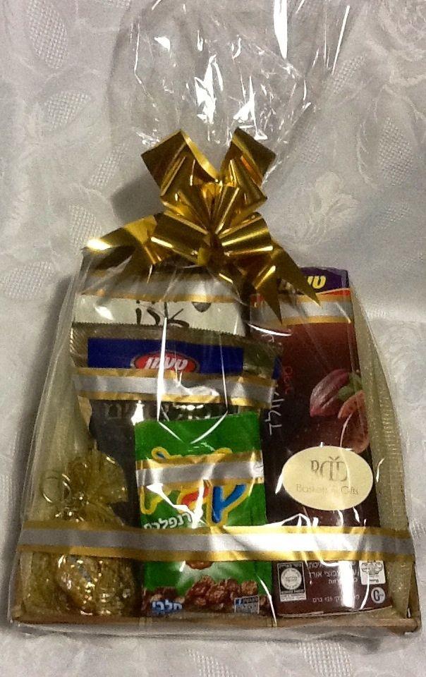 $40 custom chocolate basket for shabbos