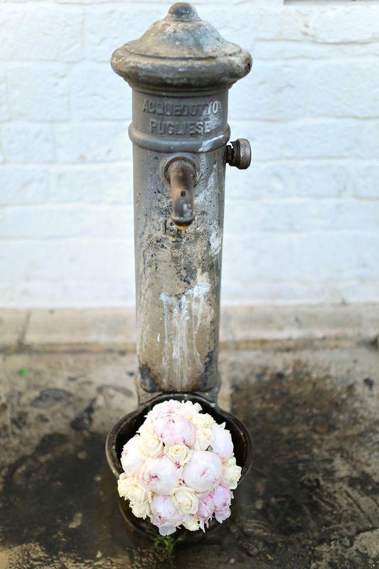 Wedding bouquet with peonies / Букет невесты с пионами