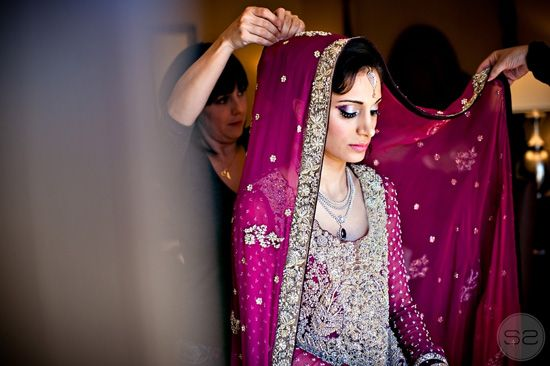 Indian - Pakistan wedding  Beautiful color!!