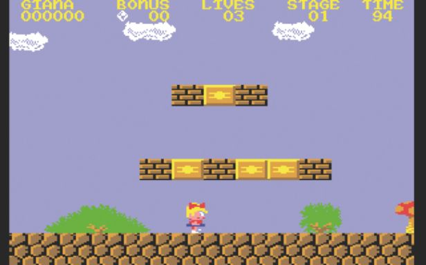 Great Giana Sisters (Commodore 64)