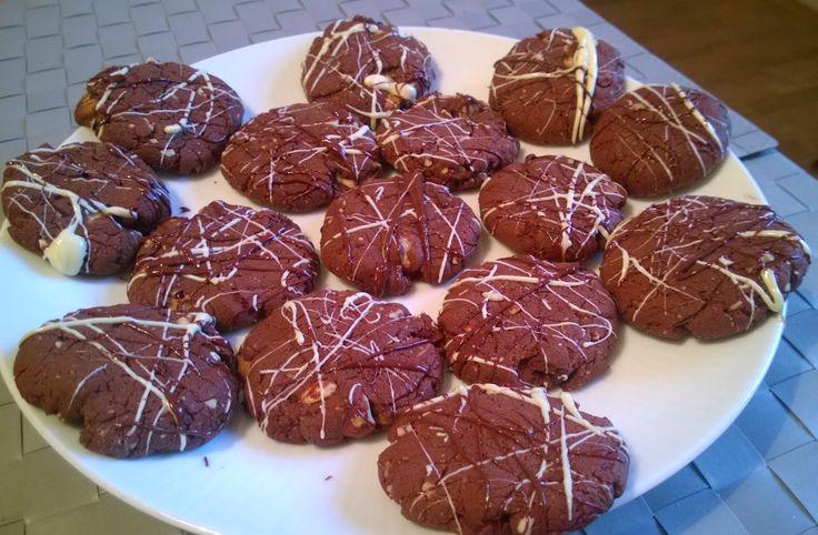 Krysy v Kuchyni: Bezlepkové Cookies Čertovy dvojitě-čokoládové