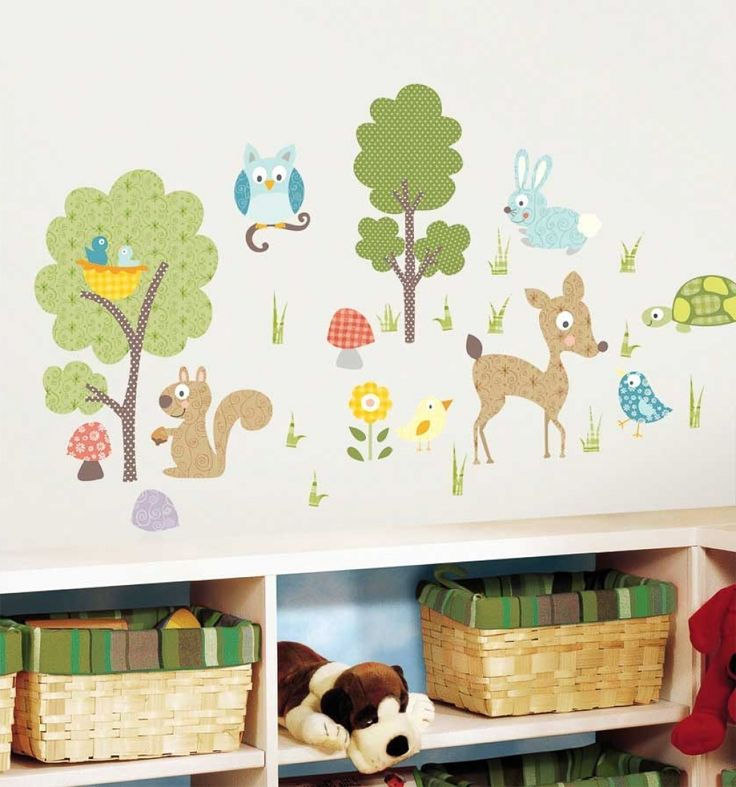best 25+ wandtattoo kinderzimmer tiere ideas on pinterest - Wandtattoo Braune Wand