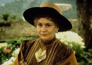 Joan Plowright, a fine British actress.  If you haven't seen, Mrs. Palfrey at the Claremont, you are missing something special.
