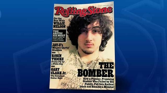 Rolling Stone blasted for giving rock star treatment to accused Boston bomber | Fox News ~ Seriously? Why did they put him on the cover. Bad idea.
