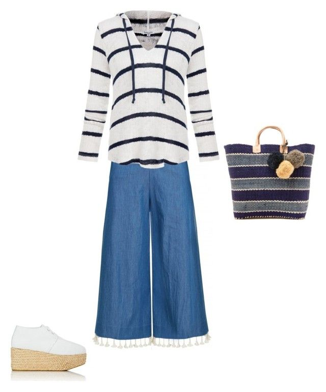 """""""Untitled #86"""" by susan-v on Polyvore featuring Splendid, Robert Clergerie and Mar y Sol"""