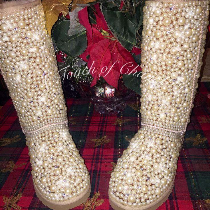 Swarovskicrystal Logo: 10 Best Pearl And Swarovski Crystal Bling Ugg Boots Images