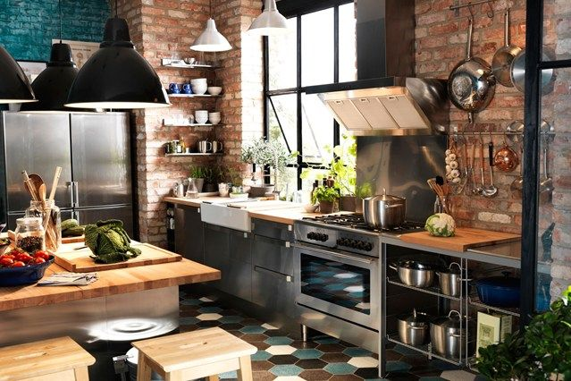 Walls & Floor - Kitchen Design Ideas & Pictures – Decorating Ideas (houseandgarden.co.uk)
