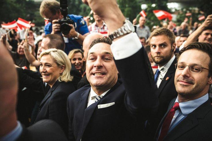 """Wir waren beim """"patriotischen Frühling"""" mit Strache und Le Pen in der Pyramide Vösendorf   VICE   Alps"""